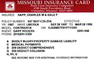 Fillable car insurance fill online printable fillable. Fillable Fake Car Insurance Card Template - Tutore.org