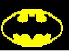 Logo Batman Pixel Art Desenho de matheus1569 Gartic