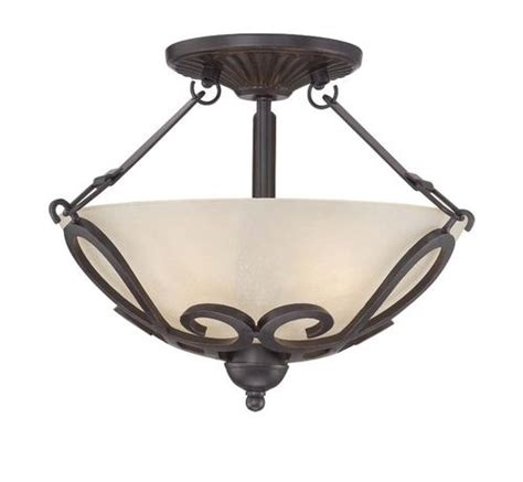 menards flush ceiling lights patriot lighting home 2 light 15 quot bronze semi