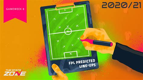 FPL Gameweek 8 – Fixtures, Team News & Predicted Line-ups ...