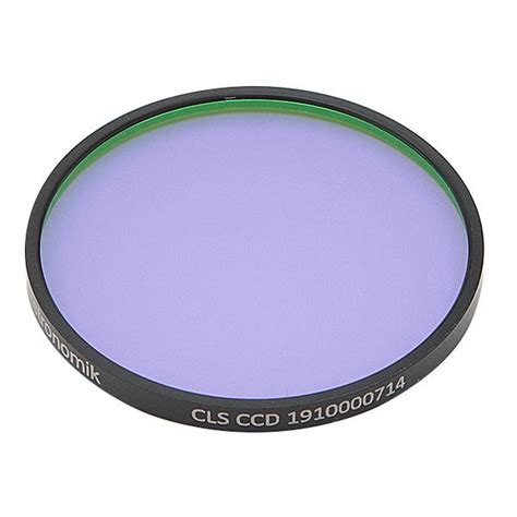 astronomik cls light pollution filter astronomik cls ccd light pollution filter 50mm round