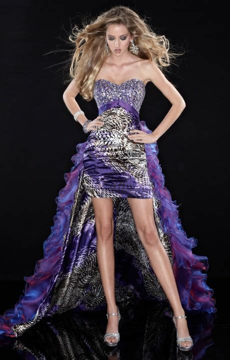panoply  embrace  wild side prom dress