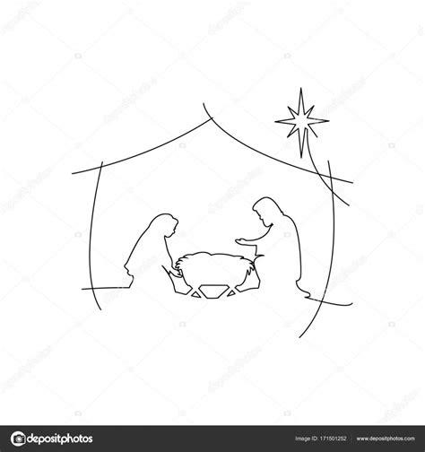 Jezus In In De Kribbe Kleurplaat by Christelijke Kerst Kerststal Kindje Jezus In De Kribbe