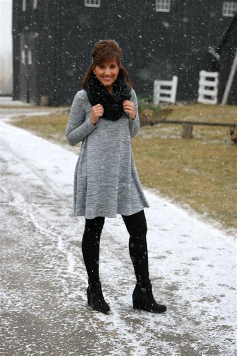 Winter Fashion Swing Dress  Grace & Beauty
