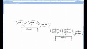 Design E-r Diagram - An Example