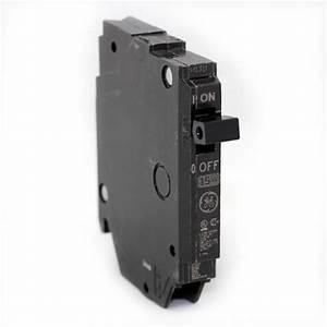 Tcp Lighting Stock Price Ge Thqp115 Plug In Circuit Breaker 1 Pole 15 Amps