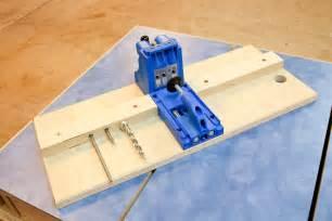 base for a kreg pocket hole jig by davewatha lumberjocks com woodworking community