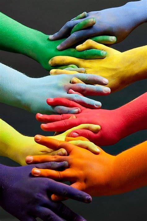 All One Color by This Is Unity As The Objects All Relate To One Another It