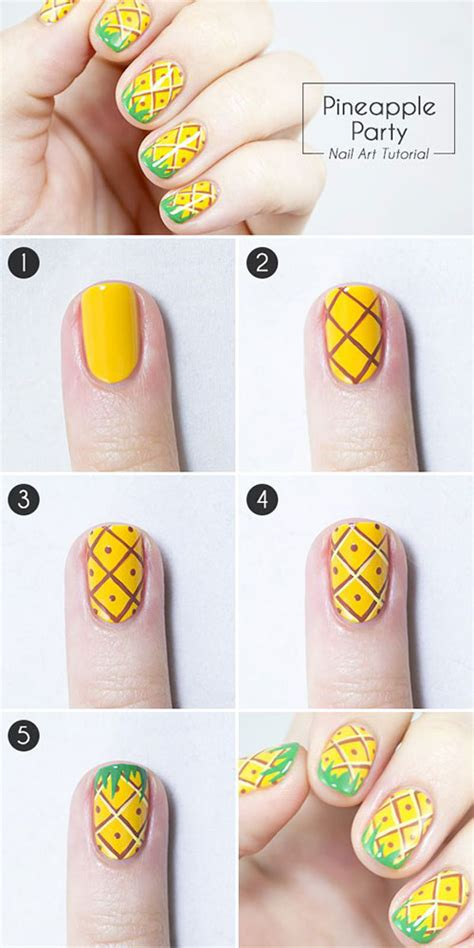 easy nail designs step by step 25 easy step by step nail tutorials for beginners