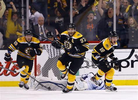 Boston Bruins Patrice Bergeron Goal