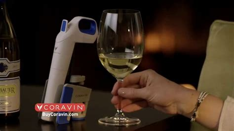 coravin tv commercial  wine  amount   pulling  cork ispottv