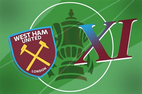West Ham XI vs Stockport: Confirmed team news, predicted ...