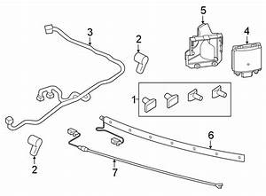 Lincoln Aviator Parking Aid System Wiring Harness  W