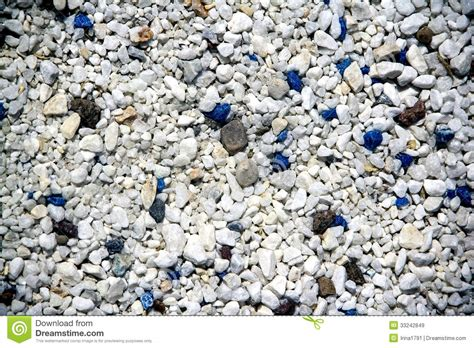 gravel colors decorative blue and white of stones royalty free stock images image 33242849