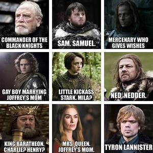 Game Of Thrones Characters With Names | names of game of ...