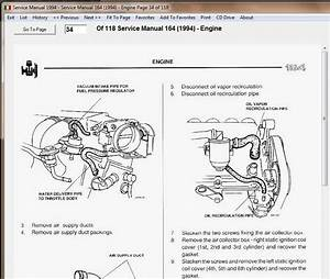 Alfa Romeo 164 Ls 92  97 Workshop Manual Workshop Manual