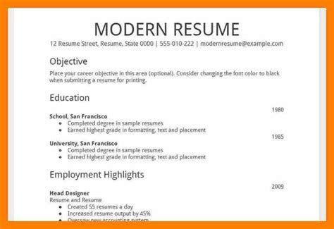 resume template docs gfyork