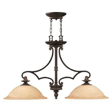 rubbed bronze kitchen island pendant with mocha glass