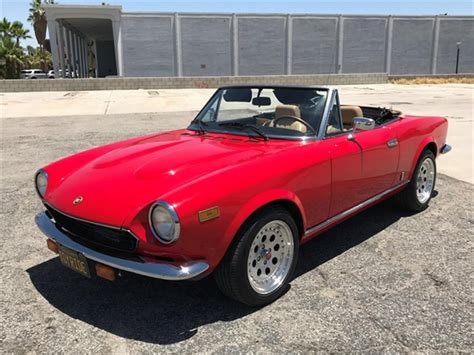 1980 fiat spider for sale classiccars cc 1153292