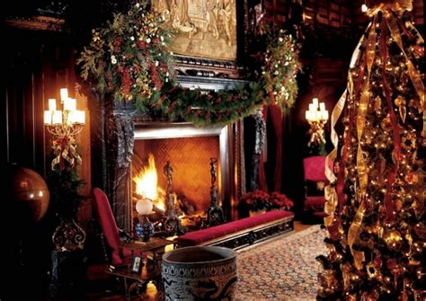 biltmore holiday christmas decorating ideas living room