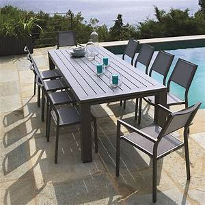 Table De Jardin Magasin Leclerc : table de jardin et chaises leclerc ~ Melissatoandfro.com Idées de Décoration