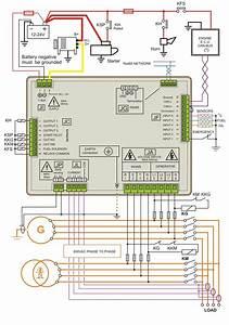 Bek3 Diesel Generator Control Panel Wiring Diagram Di 2020