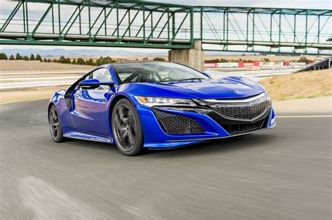 Acura NSX : 2017 Acura Nsx First Drive Review