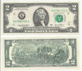2003 2 Dollar Bill Worth