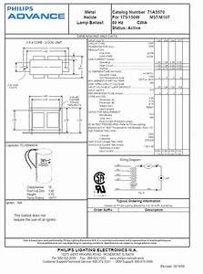 2 Lamp T12 Ballast Wiring Diagram