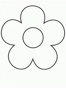 Easy Flower Drawing In Pencil - ClipArt Best
