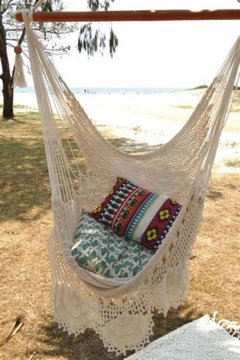 how to make a crocheted hammock the owner builder network