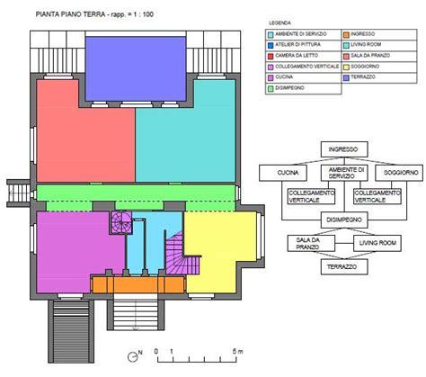 Pianta Casa Unifamiliare by Archidiap 187 Casa Steiner