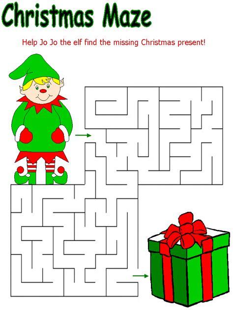 christmas activity for work la escuela de ingles de maze