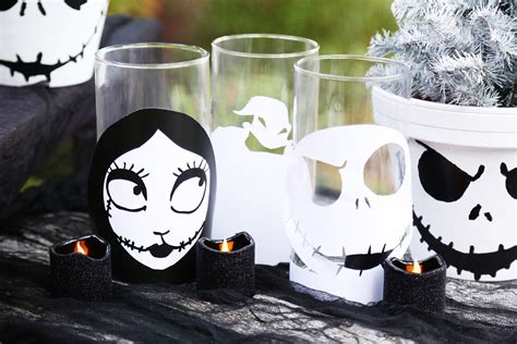 nightmare  christmas candle holders disney family