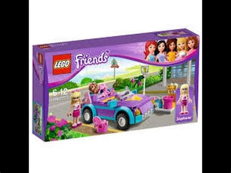 Review  Lego Friends Carro  Youtube