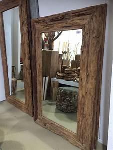 Runde Spiegel Mit Rahmen : spiegel teakholz recycled wandspiegel holzrahmen ma e 160 x 100 cm ~ Bigdaddyawards.com Haus und Dekorationen