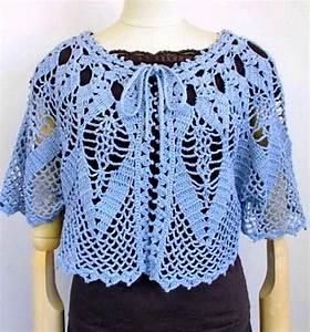 Crochet Shawls  Crochet Cape Sweater For Women