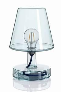 Lampe De Table Rechargeable : transloetje lampe de table fatboy led en polycarbonate transparent de couleurs diff rentes ~ Teatrodelosmanantiales.com Idées de Décoration