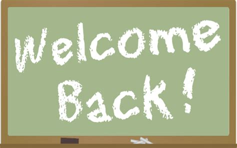 Welcome Back Clip Art