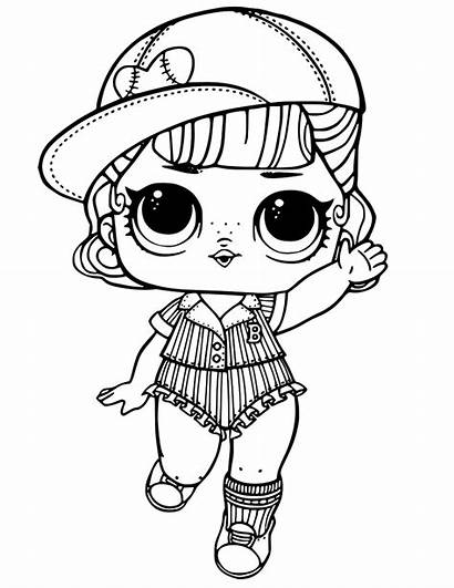 Lol Coloring Dolls Pages Printable Colouring Unicorn
