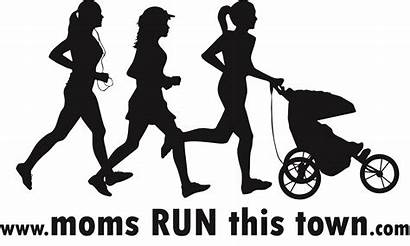 Run Moms Town Mother Runner Vector Confessions