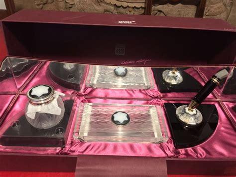 set scrivania mont blanc set da scrivania montblanc edizione limitsta catawiki