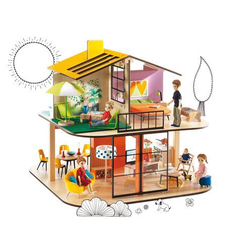 maison de poup 233 es color house djeco pour chambre enfant les enfants du design