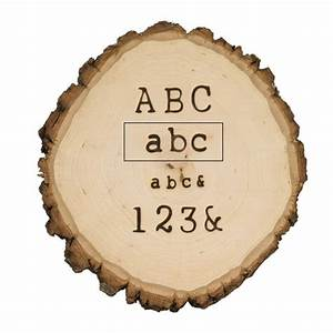 hotstamps alphabet set lowercase walnut hollow craft With large wood burning letter stamps