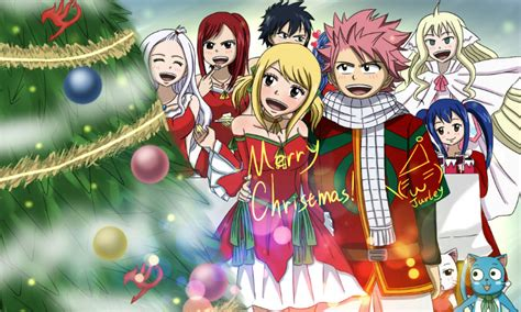fairy tail merry christmas  jurleyran  deviantart