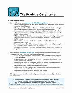 Best photos of writing portfolio introduction sample for How to write a cover letter for a college portfolio