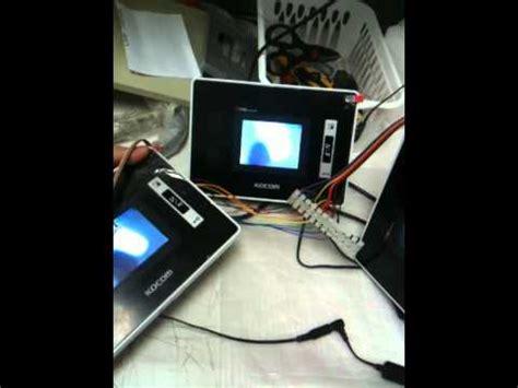 Video Intercom Kocom Wire System Diagram Youtube