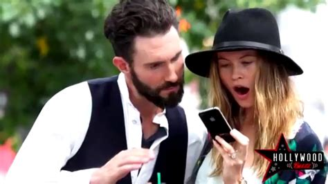 Adam Levine Behati Prinsloo Nude Sex Scene In Maroon