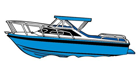 Power Boat Clipart Free by Boat Clipart Speed Boat
