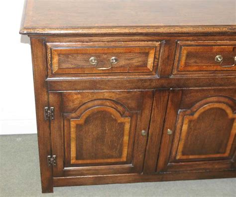 Oak Elizabethan Dresser Base Farmhouse Cupboard Cabinet